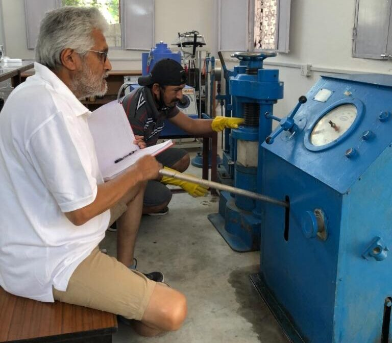 Lab Test on Aggregates, Concrete and Cement