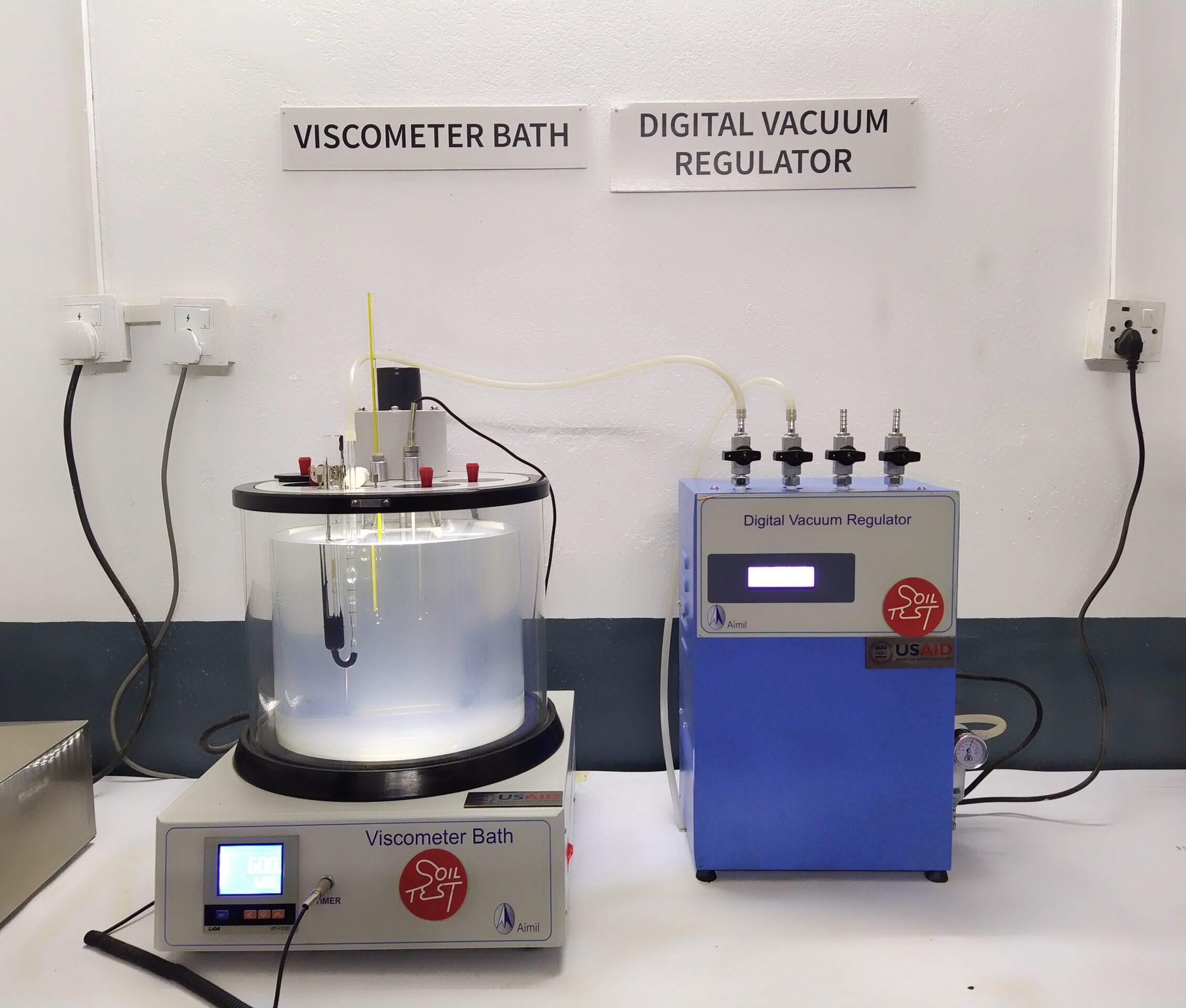 Lab Test on Asphalt and Bitumen